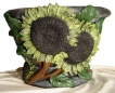 Large Sunflower Pot