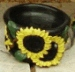 Extra Small Sunflower Pot