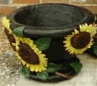 Medium Sunflower Pot